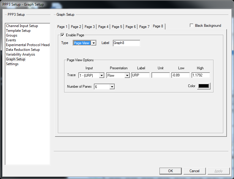 printing multiple lines of waveforms onto a single printout with